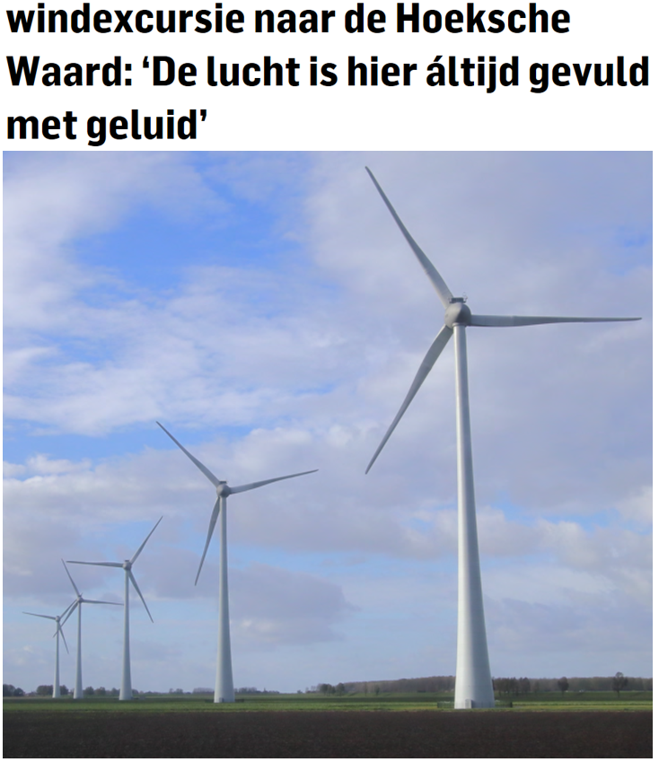 Industriele windturbines